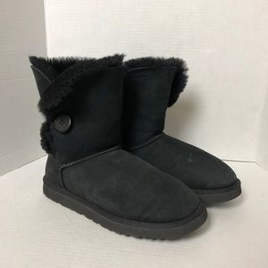 UGG Shoes - UGG | Black Bailey One Button Boots